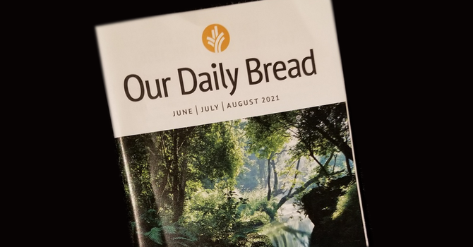Our Daily Bread Booklets Available image