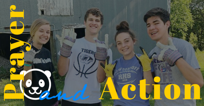 Prayer and Action image