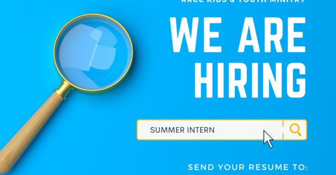 Summer Intern Wanted image