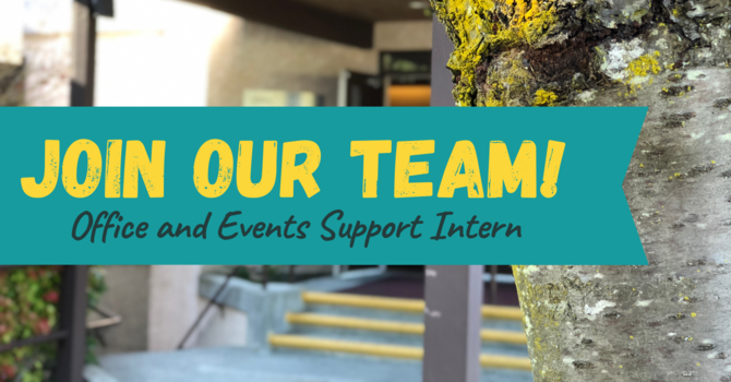 Office and Events Support Intern ~ Job Opportunity