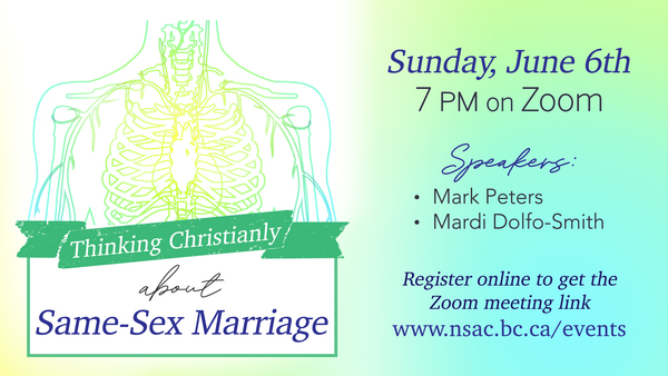 Thinking Christianly about Same-Sex Marriage