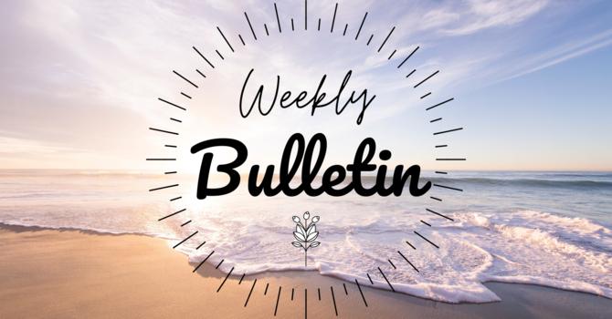 Bulletin | May 30, 2021 image
