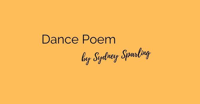 Pentecost Dance Poem by Sydney Sparling image