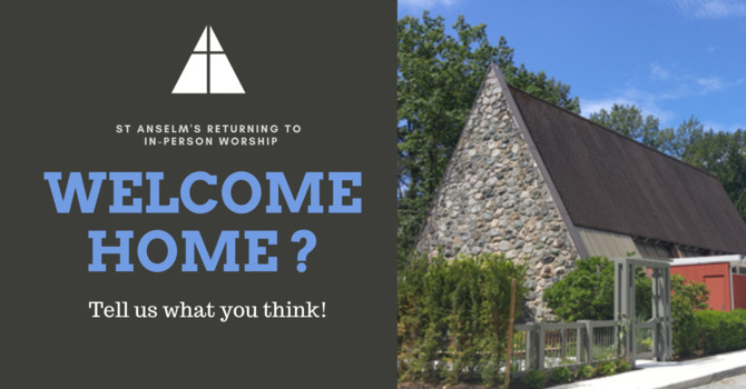 Return to In Person Worship: Share your thoughts! image