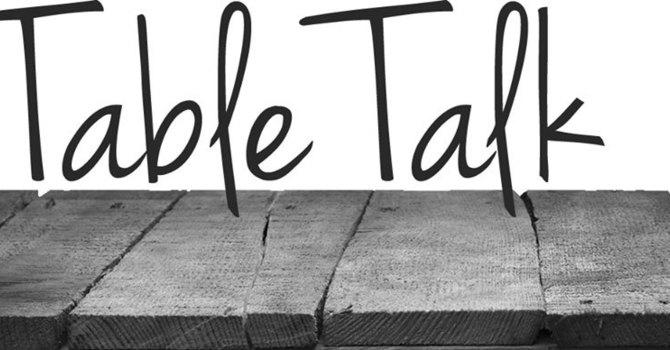 Table Talk image