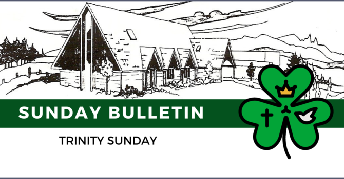 Bulletin & ZOOM link - May 30, 2021