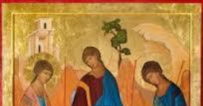 Service Sheet and Notices for Sunday, May 30th, Trinity Sunday image