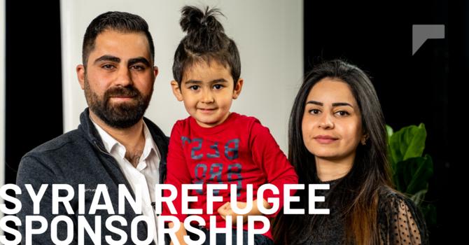 SYRIAN REFUGEE SPONSORSHIP