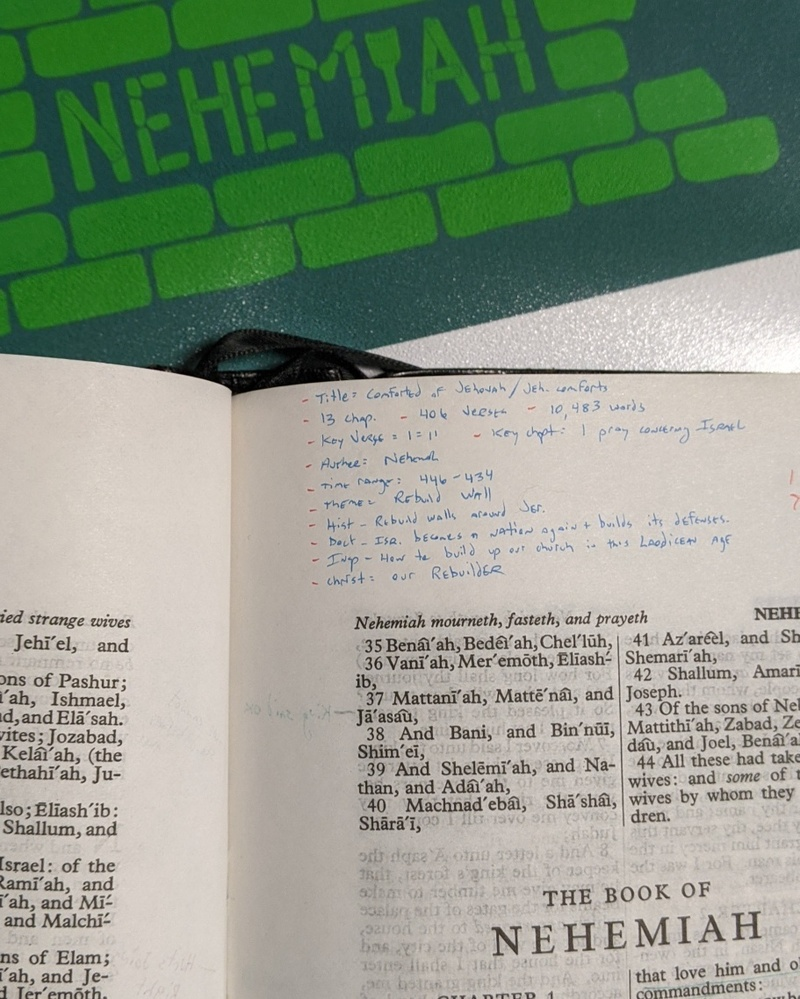 Nehemiah Part 6
