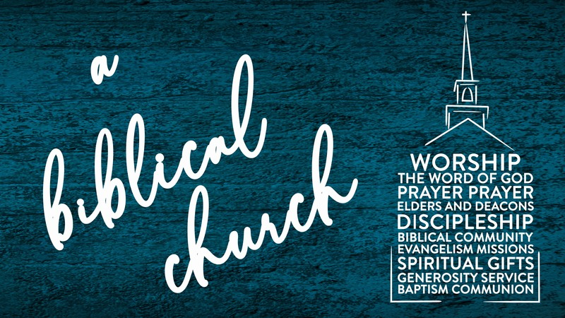 A Biblical Church: Biblical Community 1/2