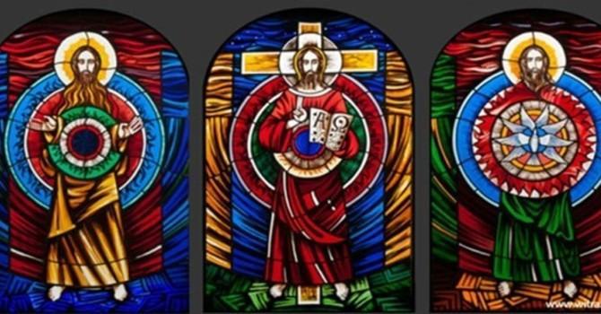 Trinity Sunday 30th May 2021 image