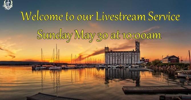 Sunday May 30 Livestream Service