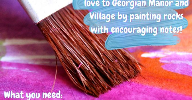 Rock Painting for Georgian Village and Manor image