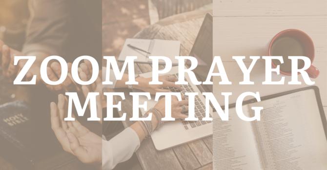 Zoom Prayer Meeting