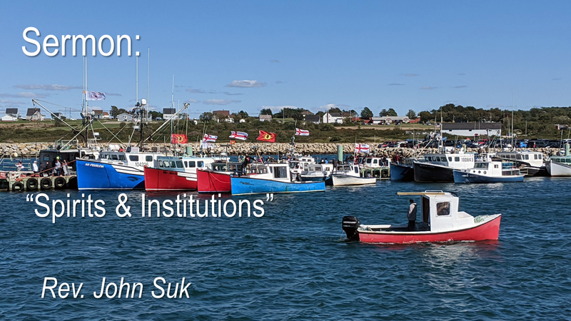 Spirits & Institutions