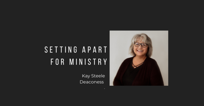 Setting Apart for Ministry image