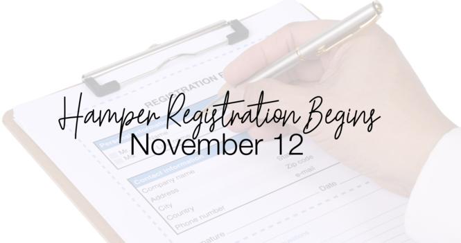 Hamper Registration
