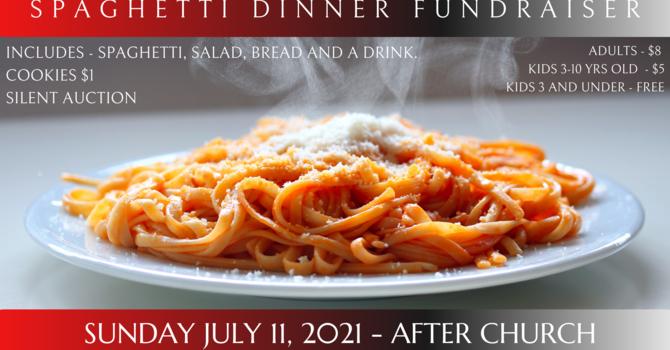 Spaghetti Dinner Camp Fundraiser