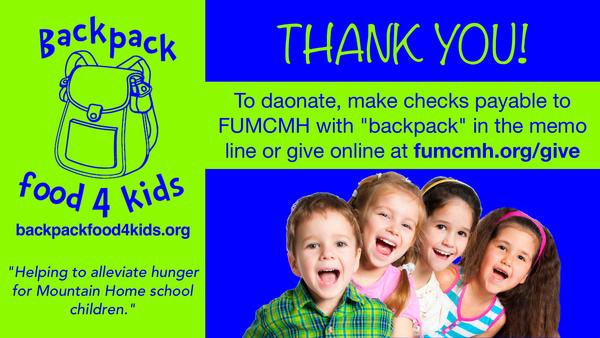 Backpack Food 4 Kids