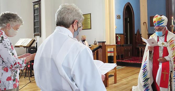 Sharon Arbeau ordained image