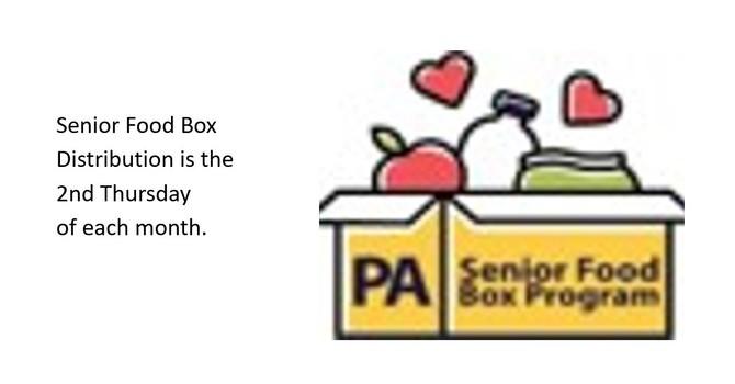 Senior Food Box Distribution