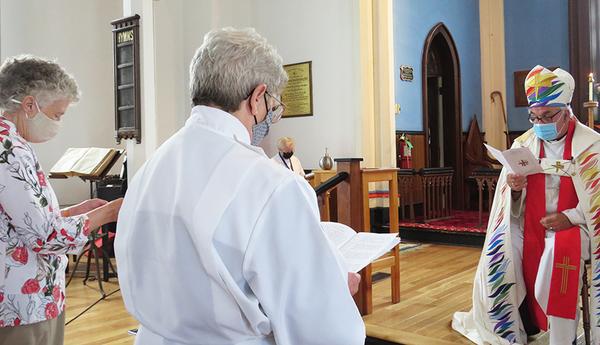 Sharon Arbeau ordained