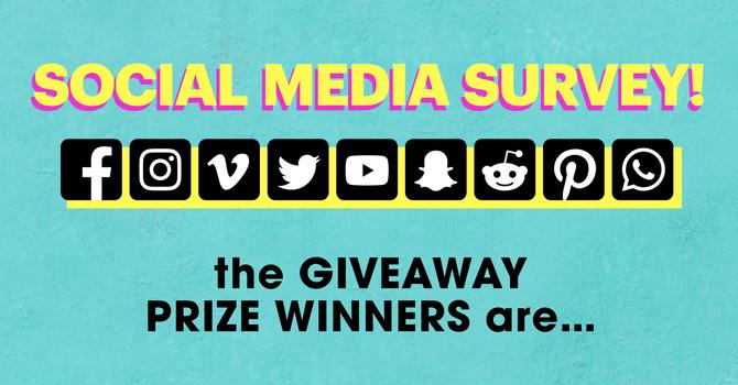 Survey Giveaway Winners image