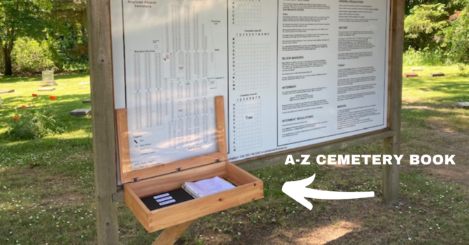 A-Z Cemetery Book image