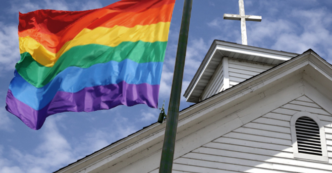 The disconnect between organized religion and the gay community image