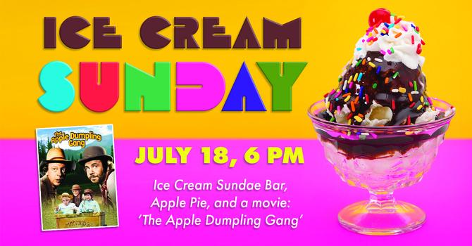 Ice cream sunday image