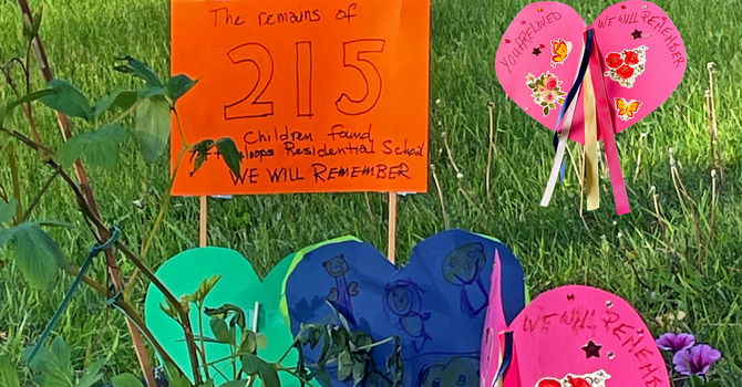 Families Encouraged to Remember Indigenous Children with Reconciliation Hearts image