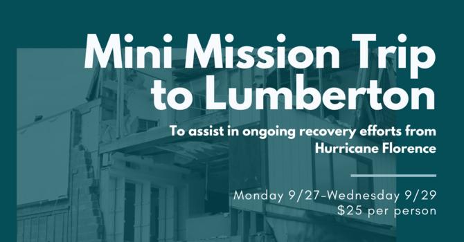Mini Mission Trip to Lumberton