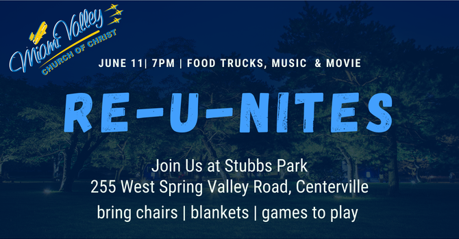 Our 1st Re-U-Nites Event image