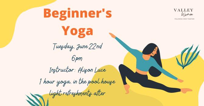 Women's Ministry - Beginner's Yoga