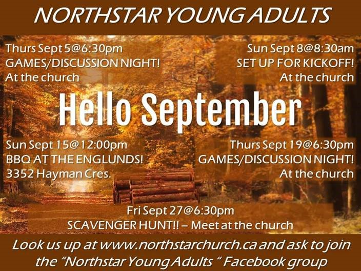 YOUNG ADULTS 18-25 | Adult Ministries | Northstar Fellowship