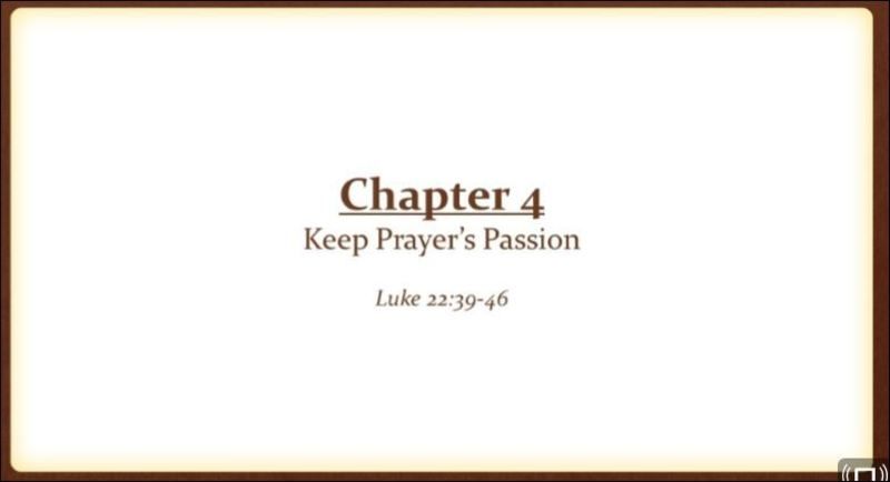 Keep Prayer's Passion