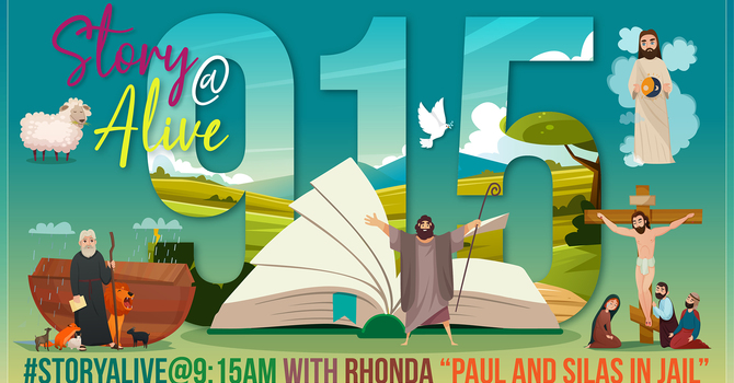 Story Alive @ 9:15am with Rhonda
