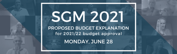 Special General Meeting  · Monday, June 28 · 7PM