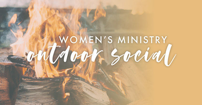 Women's Ministry Outdoor Social