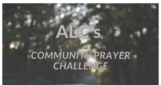 ALC Community Prayer Challenge