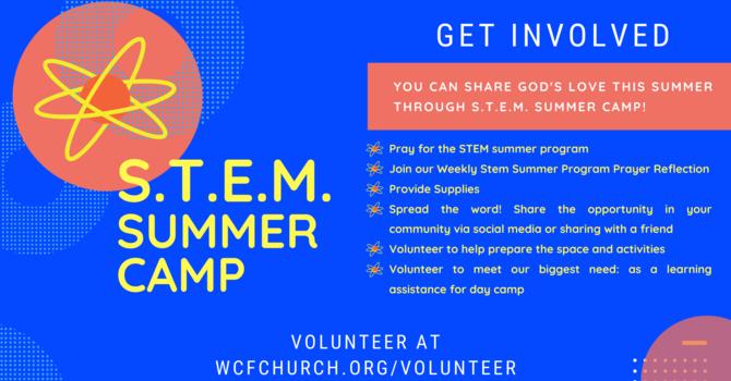Get Involved with the STEM Summer Program image