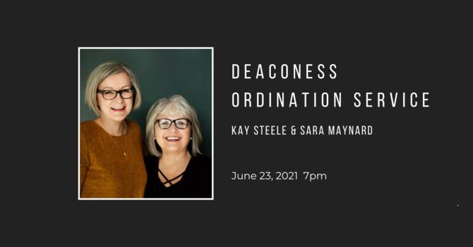 Register for Deaconess Ordination Service