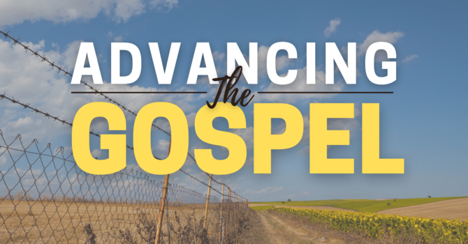 Advancing the Gospel image
