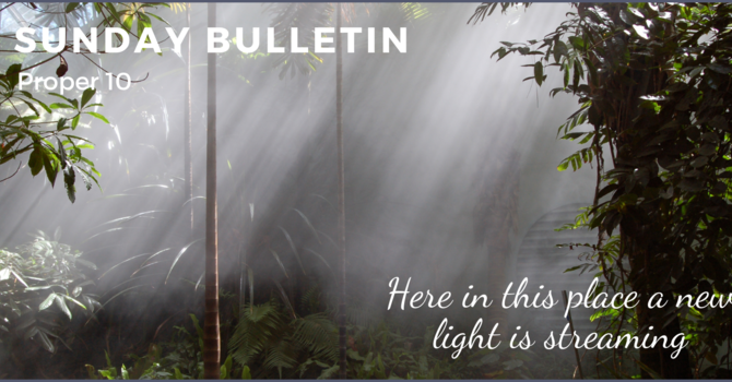 Bulletin & ZOOM link - June 6, 2021
