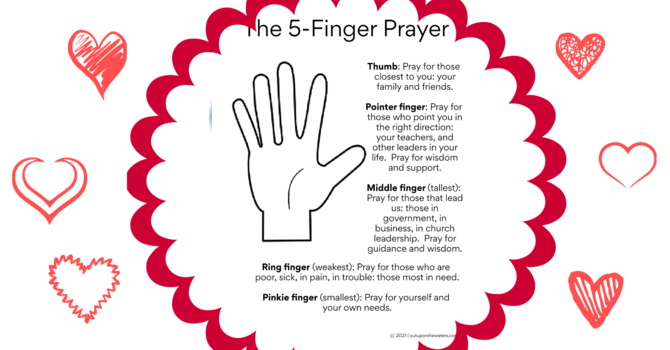 The 5 Finger Prayer image