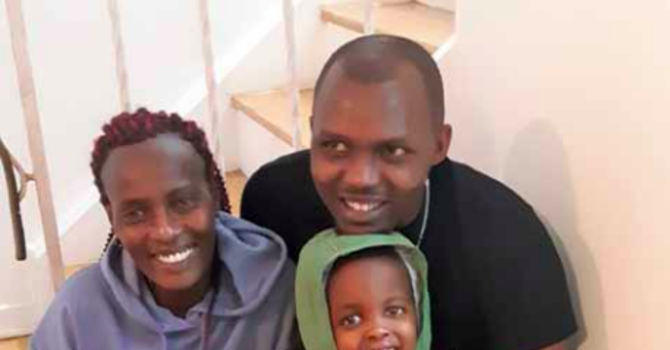 Trinity in the OSCAR: Comfort and joy: Refugee family reunited on Christmas Eve image