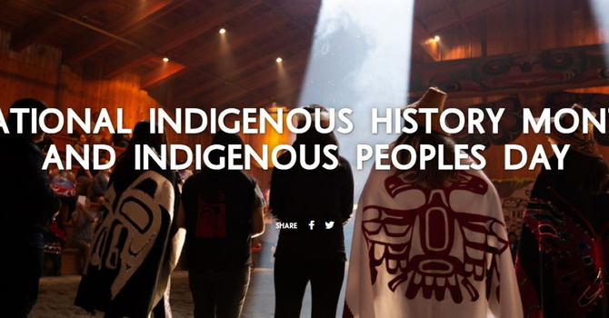 National Indigenous History Month image