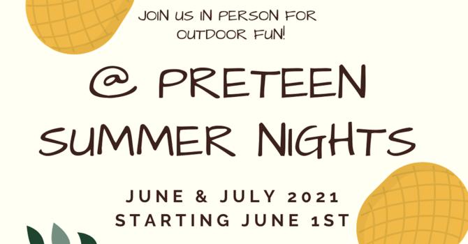 Preteen Summer Nights