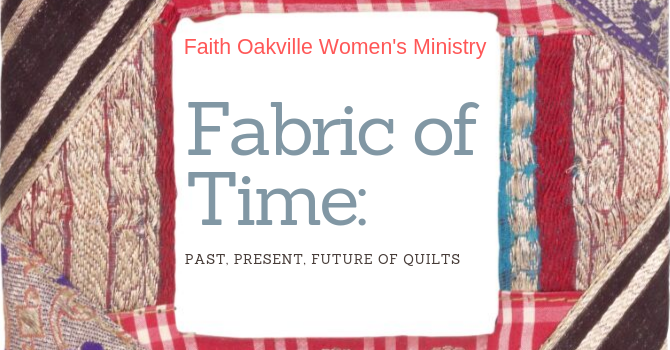 FABRIC OF TIME with Rebecca McAlpine