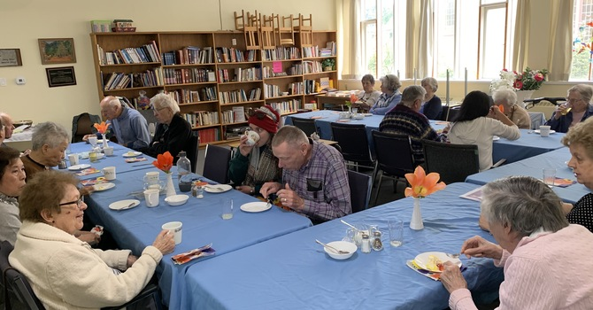 Senior Lunch Club (TLC) via ZOOM